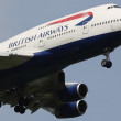 英国航空の機体