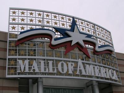 アメリカの巨大モール
