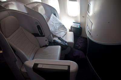 ニュージーランド航空のプレミアムエコノミー