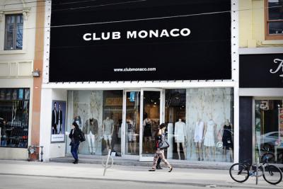 Club Monaco Store Canada