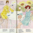 Illustrated 1970 Fashions, Intimate Apparel & Lingerie, Beautiful Girls, 1 of 3 (lengua española revista)