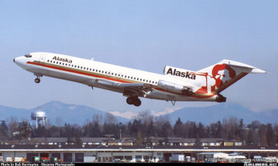"Alaska Airlines ""Icon Tails"" 727s"