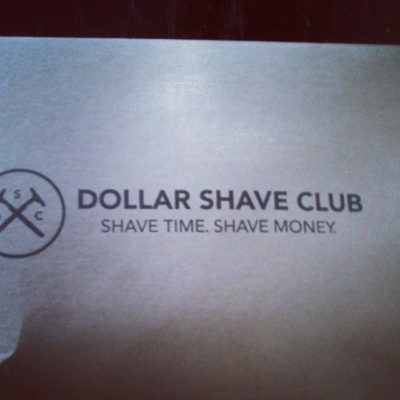Love the funny messages from the Dollar Shaving Club