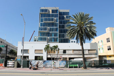 Hyatt Centric South Beach Consruction