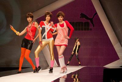 PUMA 2010 SS Fashion Show