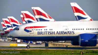 Red, White & Blue from british airways